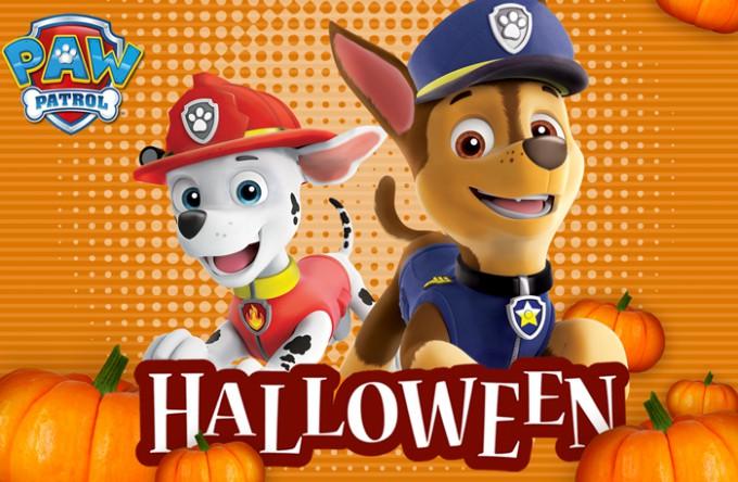 Halloween z Psim Patrolem
